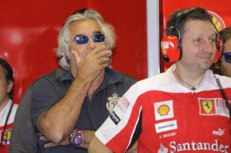 """Formula 1. Briatore: """"Giornata fantastica per la Ferrari"""". E su Alonso…"""