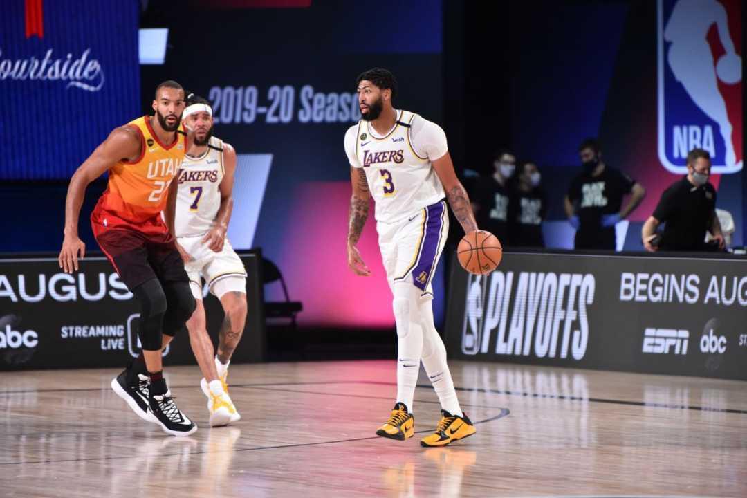 Anthony Davis, 42 punti contro gli Utah Jazz (getty images)