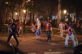 144108070 276x181 EUROPA LEAGUE. I festeggiamenti per la vittoria dellAtletico Madrid sfociano nel caos