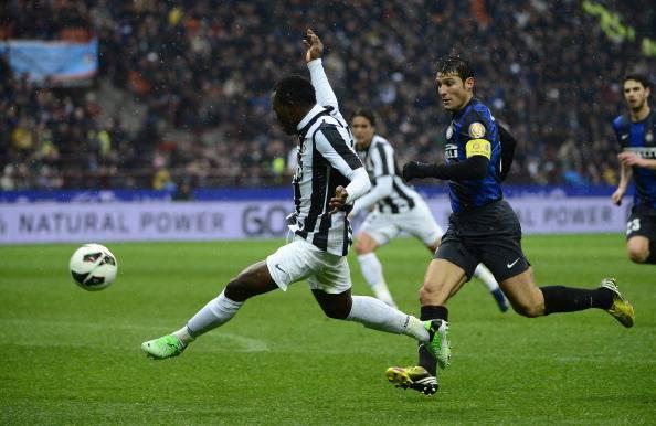 Asamoah a San Siro contro l'Inter