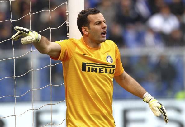 Samir Handanovic , portiere dell'Inter