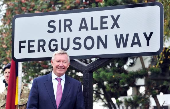 Alex Ferguson in visita al Manchester United
