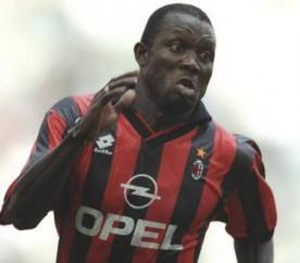 George Weah of AC Milan