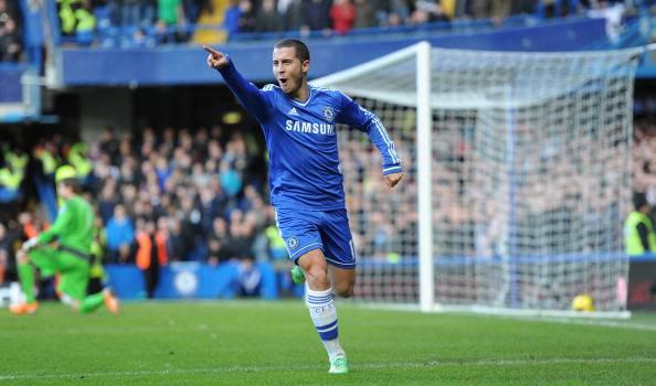 Eden Hazard, in maglia Chelsea Real Madrid