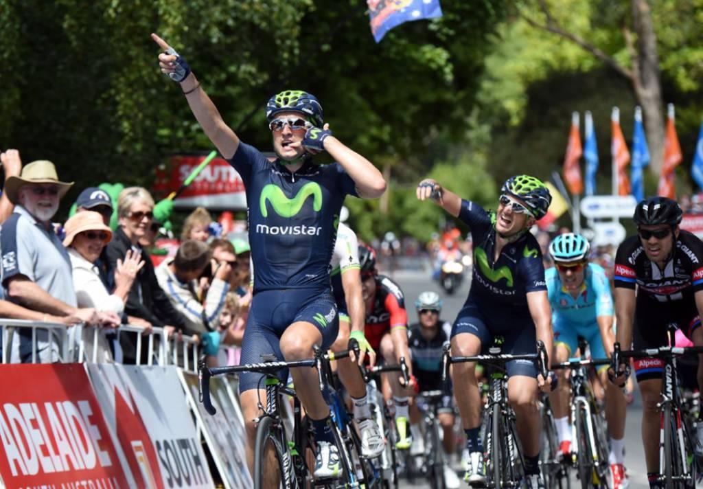 Santos Tour Down Under 2015, Lobato sorprende tutti e si aggiudica la seconda tappa