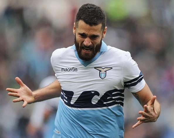 Antonio Candreva, stella della Lazio Milan