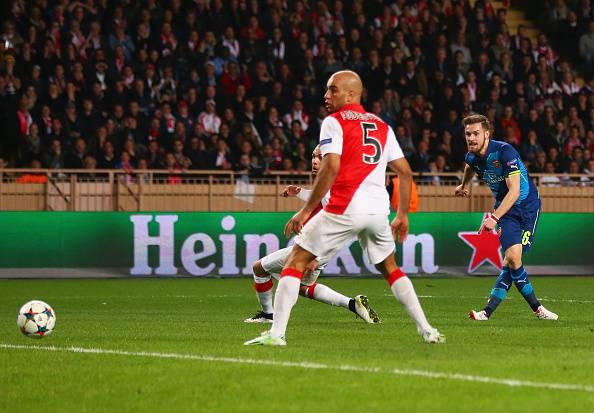 Champions League.  Monaco – Arsenal 0-2: impresa sfiorata per gli inglesi (FOTOGALLERY)