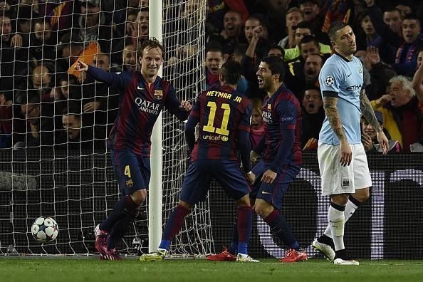 Champions League. Barcellona – Manchester City 1-0: Rakitic decide il match (FOTOGALLERY)