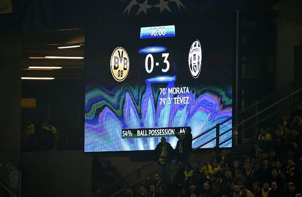 Champions League. Borussia Dortmund – Juventus 0-3: Tevez e Morata regalano i quarti ai bianconeri (FOTOGALLERY)