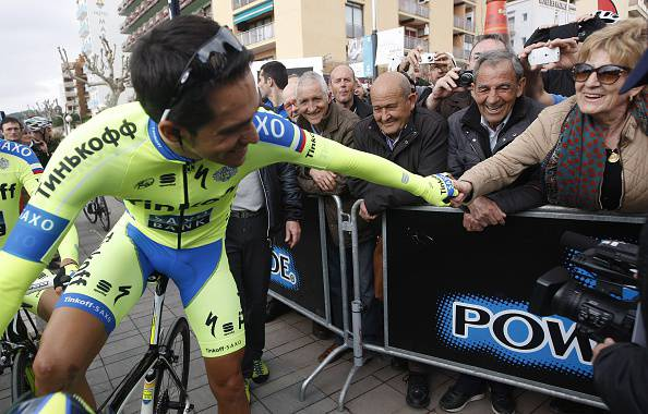 Giro d'Italia 2015. Contador pronto a ripartire dopo la caduta