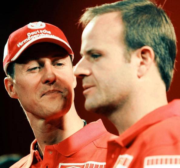 """Formula 1. Barrichello: """"Uno dei 7 titoli vinti da Schumacher doveva essere il mio"""""""