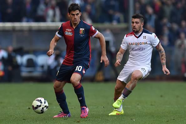 Diego Perotti, attaccante del Genoa
