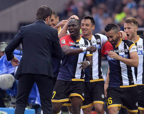 Serie A. Udinese – Milan 2-1, Pinzi e Badu regalano i tre punti ai friulani (FOTOGALLERY)