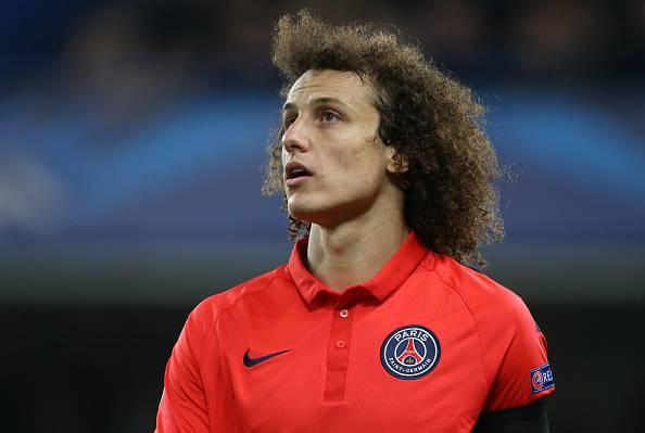 Psg. David Luiz out 1 mese. Salta il Barcellona