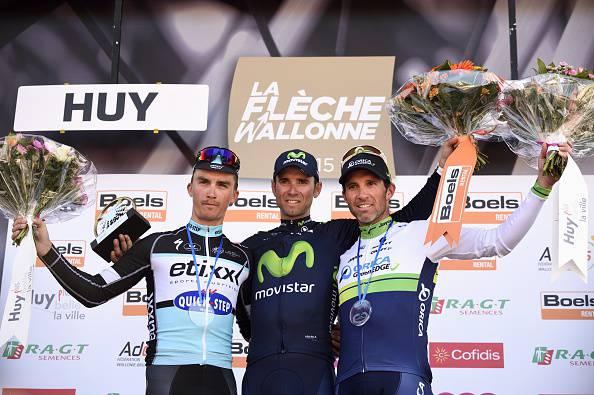 Ciclismo. Freccia Vallone 2015, bis di Alejandro Valverde (FOTOGALLERY)