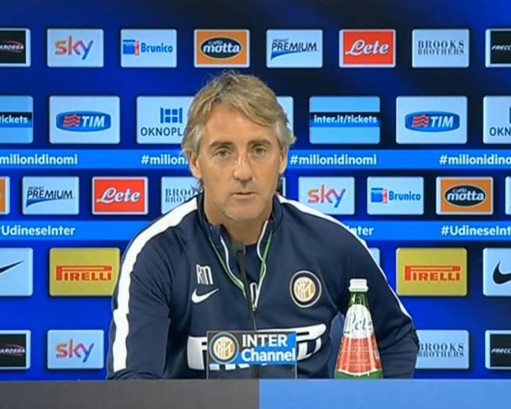 "Inter-Juventus. Mancini: ""Complimenti alla Juve. Sarà gara vera"""