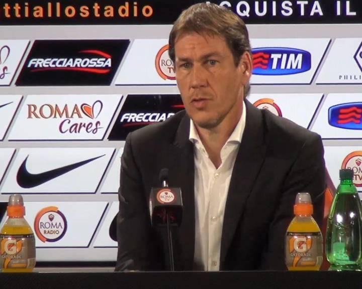 """Roma-Atalanta. Garcia: """"Domani conta solo vincere, la squadra è motivata"""""""