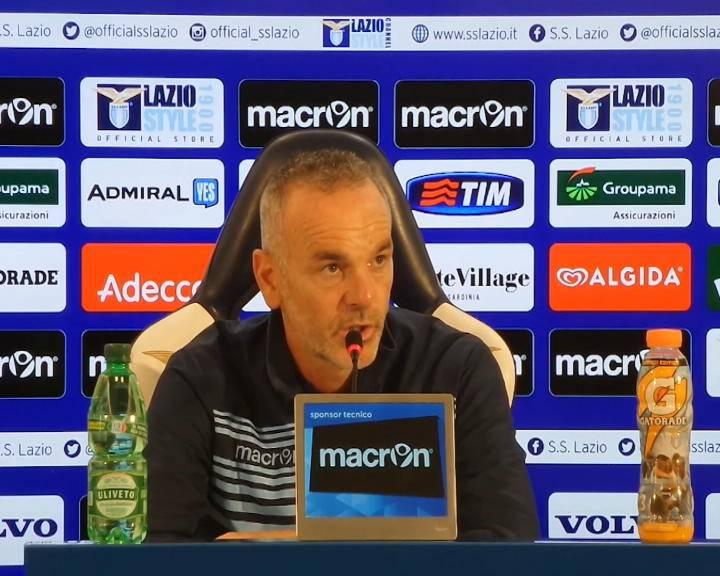 """Sampdoria-Lazio. Pioli: """"Il derby va spostato. Domani niente turn over"""""""