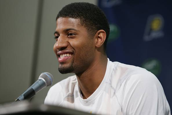 Paul George, giocatore NBA e leader degli Indiana Pacers