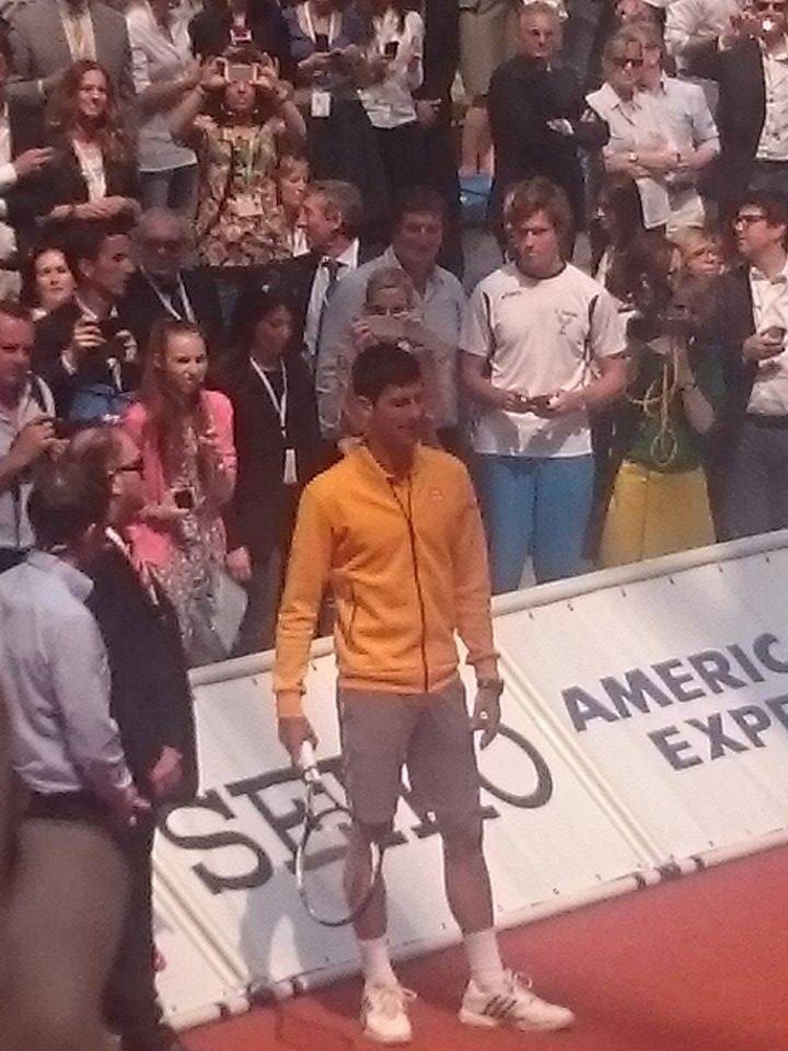 Expo 2015. La Lombardia incontra Novak Djokovic (FOTO)