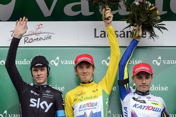 Ciclismo. Tour de Romandie 2015, a sorpresa Zakarin succede a Froome