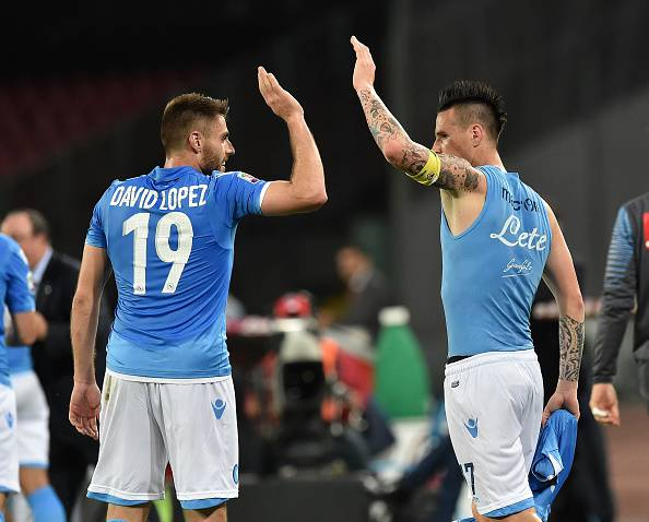 Serie A. Napoli – Milan 3-0, i partenopei avvicinano il terzo posto (FOTOGALLERY)