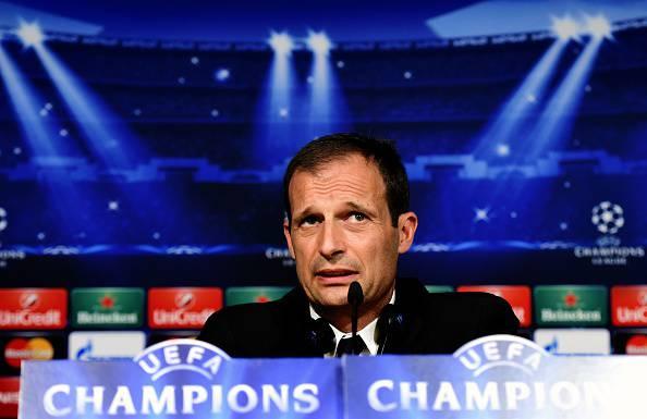 "Champions League. Juventus, Allegri: ""Dobbiamo rimanere sereni"""