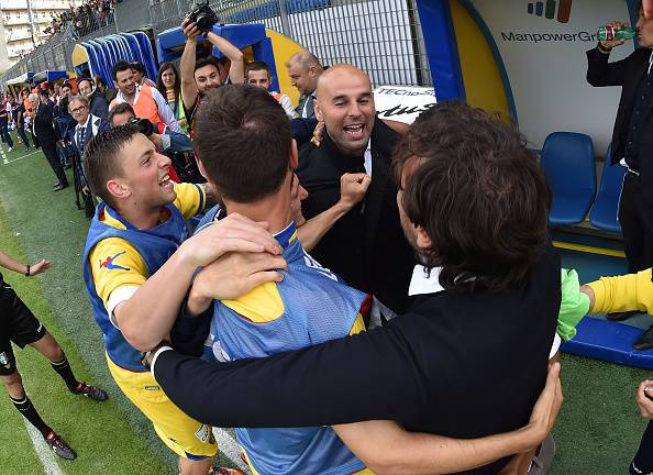 Serie B. Frosinone la promozione è realtà (FOTOGALLERY)