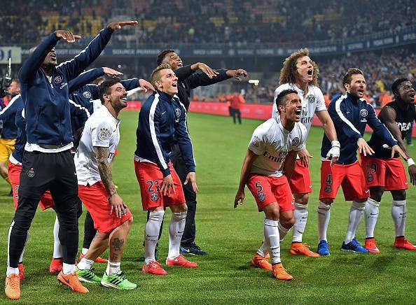 Ligue 1. PSG campione per la terza volta consecutiva (FOTOGALLERY)