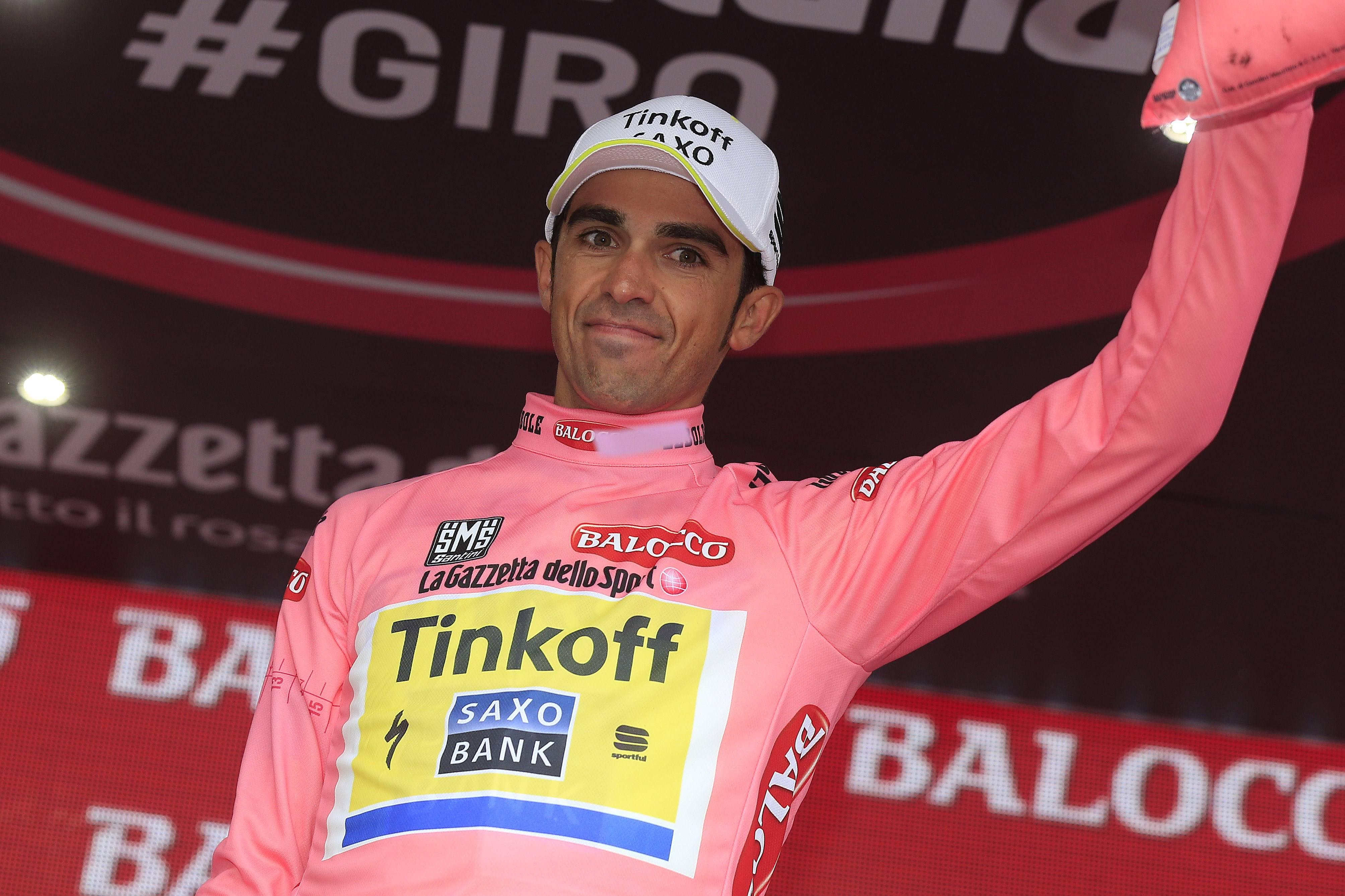 Giro d'Italia 2015. 14^ tappa: Contador ritorna in rosa, Kiryienka vince la cronometro (FOTOGALLERY)