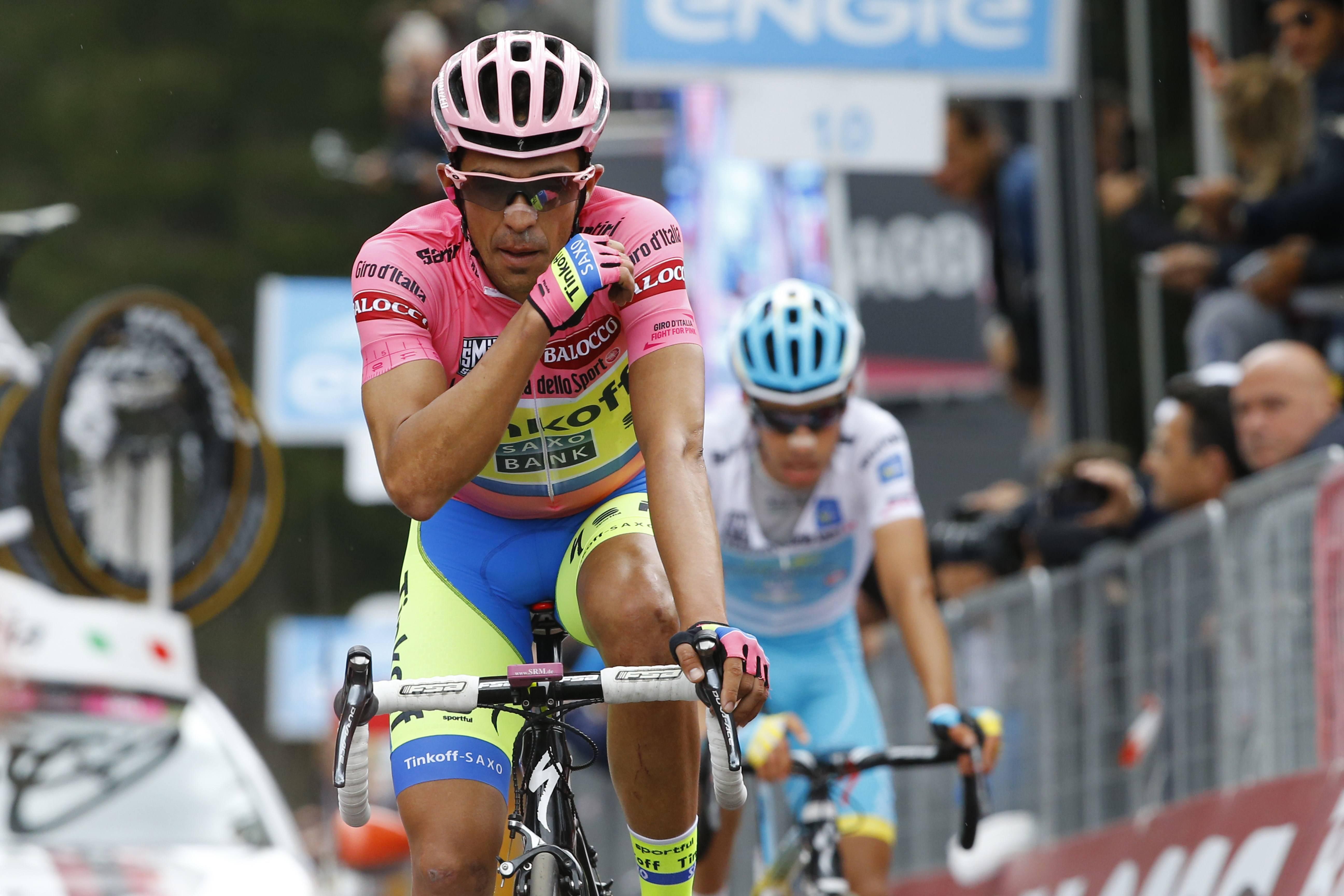 Giro d'Italia 2015. 15^ tappa: Landa vince la tappa, Contador sempre più rosa (FOTOGALLERY)
