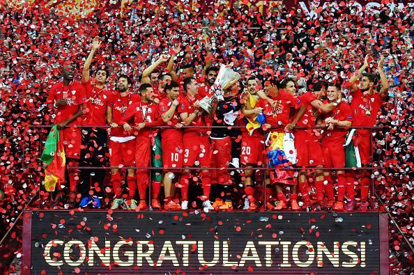 Europa League. Dnipro – Siviglia 2-3, gli spagnoli si confermano campioni (FOTOGALLERY)