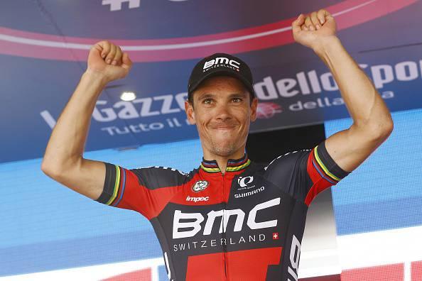 """Giro d'Italia 2015. Gilbert: """"Contento per la seconda vittoria"""""""