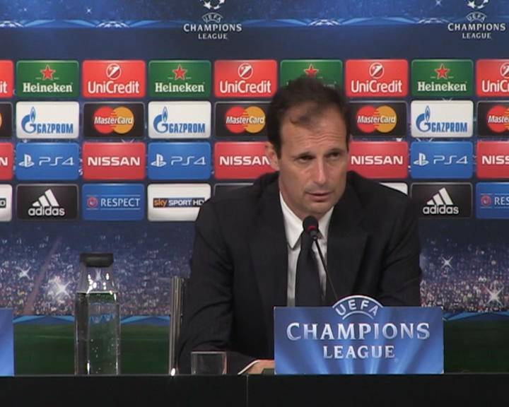 """Champions League. Juventus, Allegri: """"I ragazzi hanno dato prova della loro forza"""""""