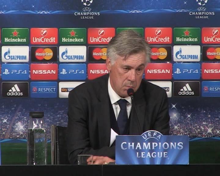 """Champions League. Real Madrid, Ancelotti: """"Abbiamo fiducia in vista del ritorno"""""""