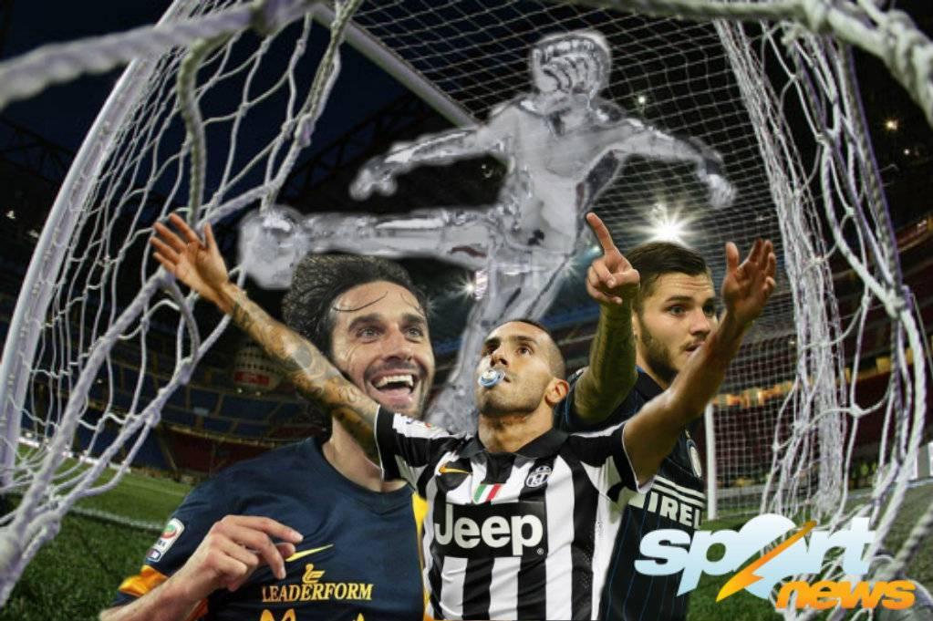 Serie A. Toni-Tevez, il trono del gol in 90 minuti, ma occhio a Icardi