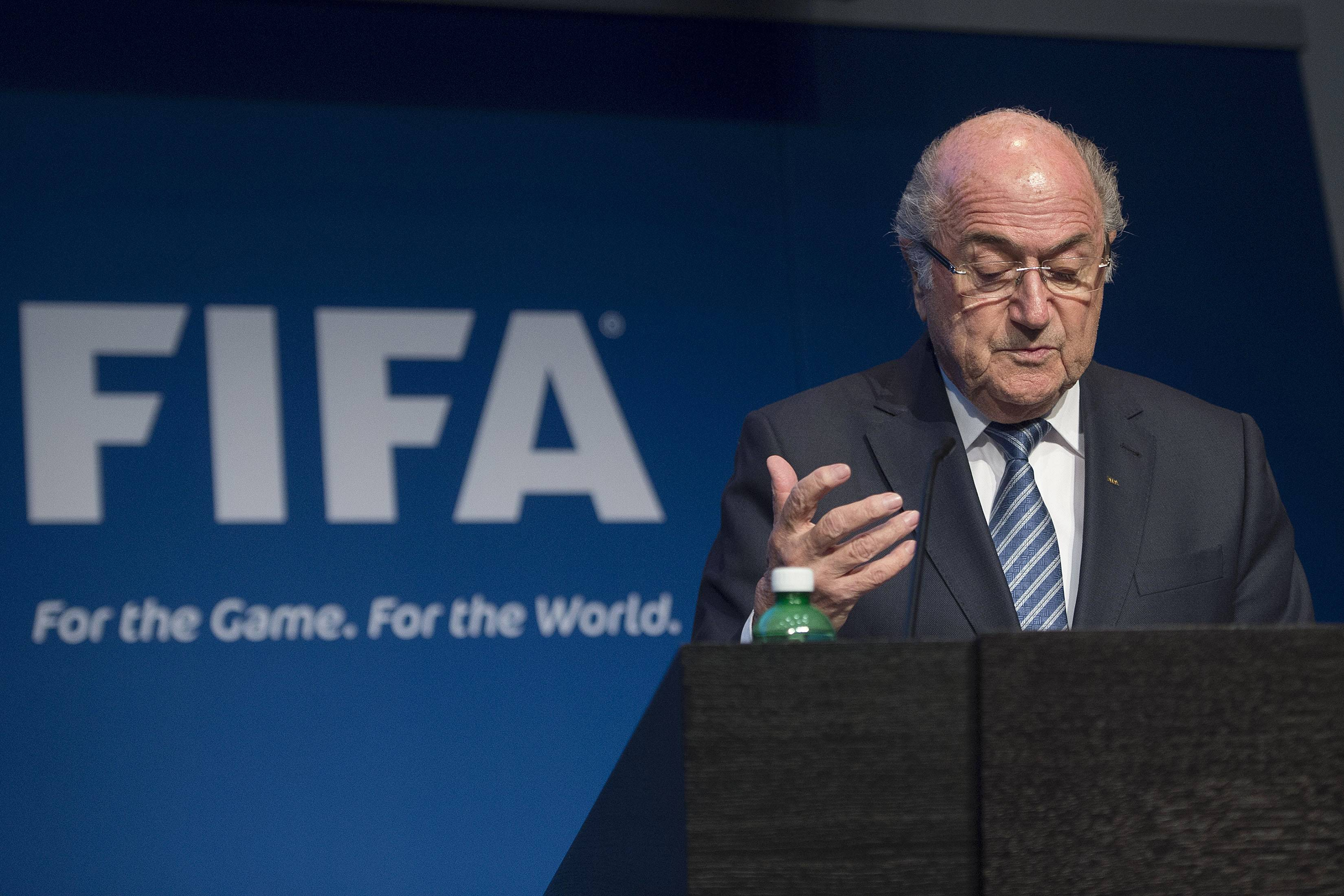 Joseph Blatter, presidente della FIFA