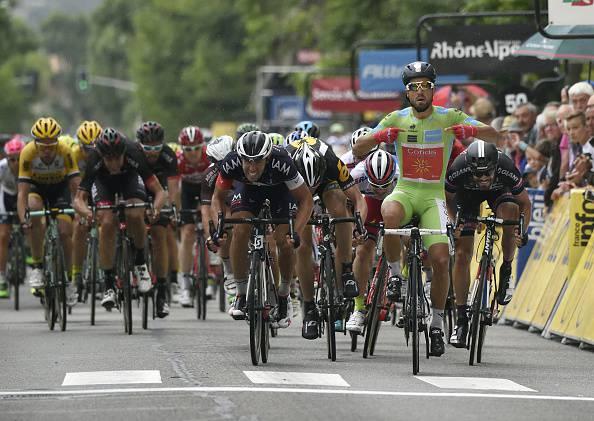 Giro del Delfinato 2015. 5^ tappa, Bouhanni concede il bis