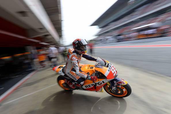 Moto GP. Catalogna; Marquez leader nelle prime libere.