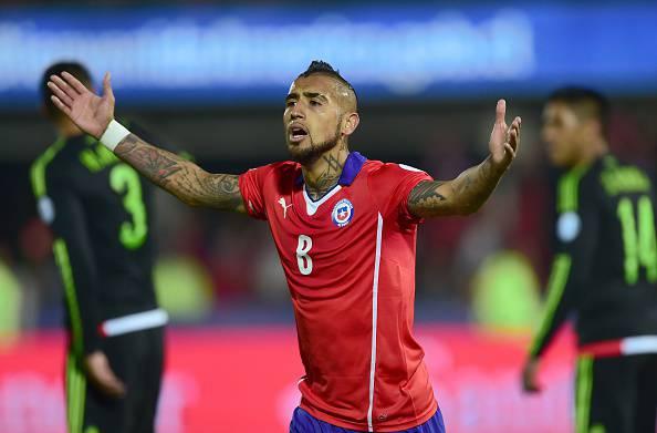 Arturo Vidal, centrocampista del Cile e del Bayern Monaco
