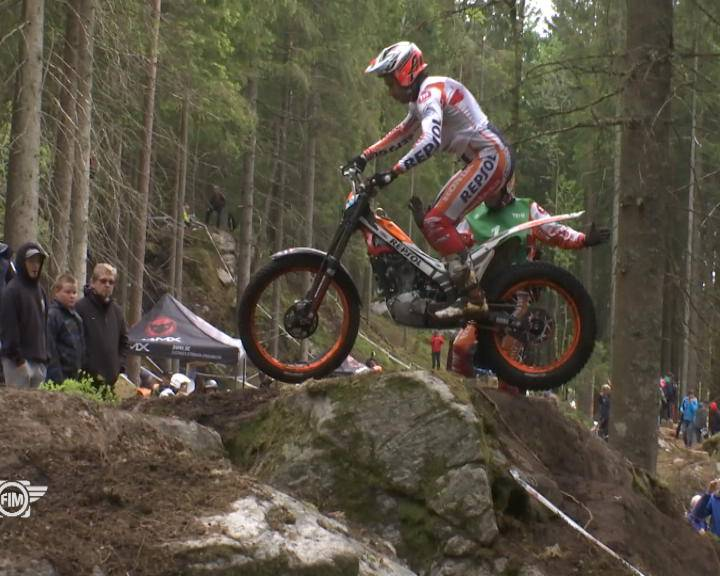 Mondiale Trial, Bou domina in Svezia