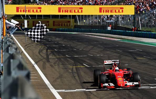 F1. Gp Ungheria; Trionfo Vettel. Le Mercedes sprecano. Sorpresa Kvyat