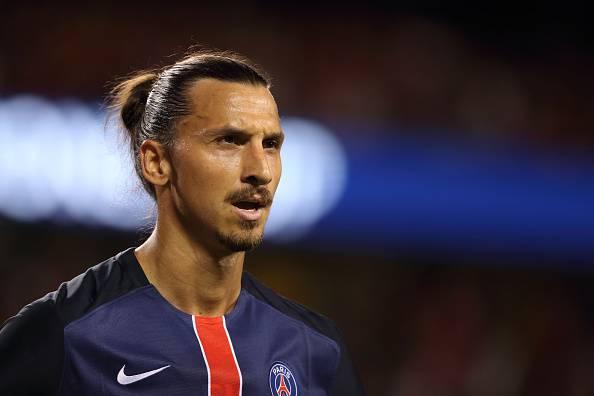 Zlatan Ibrahimovic, attaccante del PSG