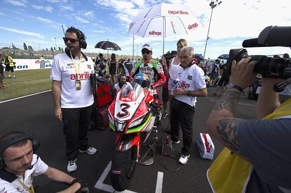 """Superbike. Biaggi in pista anche a Sepang: """"Portare in alto il nome di Aprilia nel mondo"""""""
