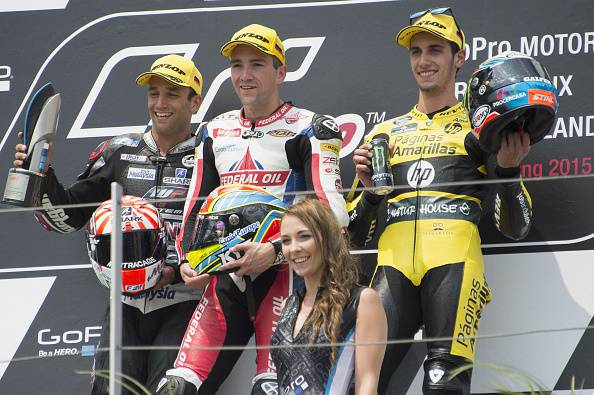 Moto 2. GP Germania, primo successo in carriera per Simeon