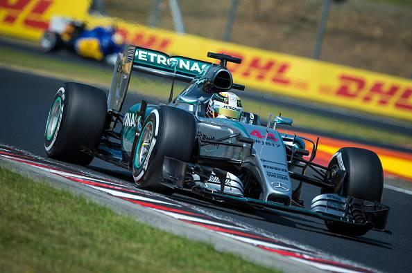 F1. Hungaroring, Hamilton ancora in Pole, poi Rosberg e Vettel