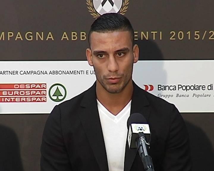 """Udinese. Adnan: """"Un orgoglio vestire questa maglia"""""""