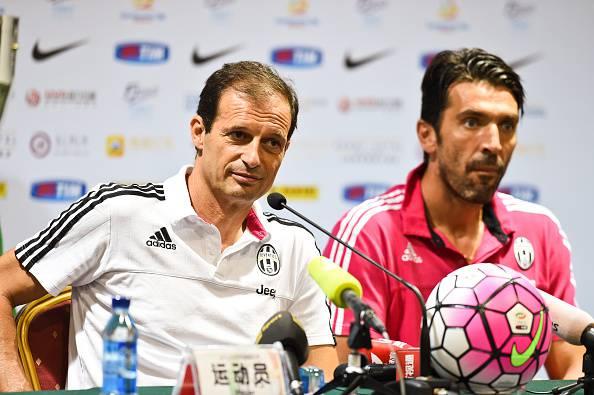 """Juventus. Allegri: """"10 a Pogba? L'ha chiesto lui"""".  Buffon: """"Cambiare i giocatori può essere uno stimolo in più"""""""