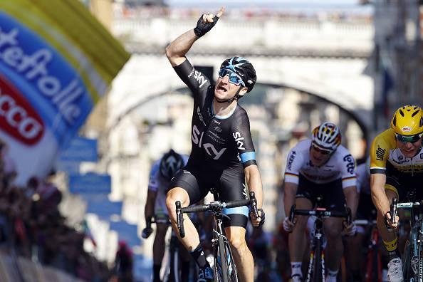 Eneco Tour 2015. 1^ tappa: Elia Viviani vince in volata