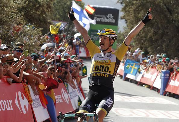 Vuelta a Espana 2015. 7^ tappa: Lindeman sorprende il gruppo, Aru attacca (FOTO)